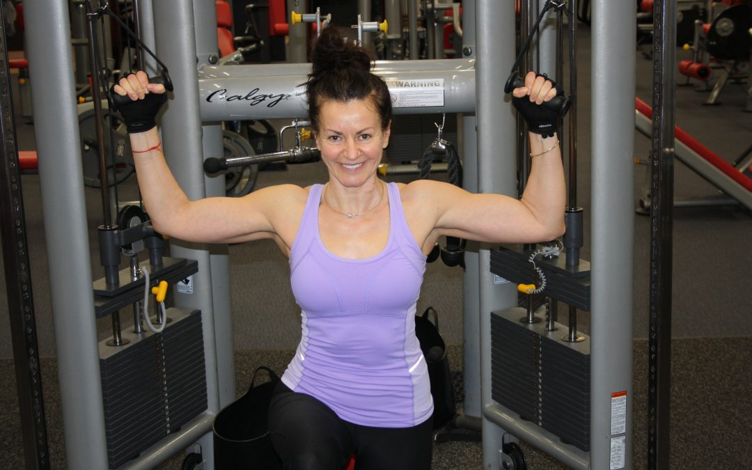 Nutrition and training for women over 40 years of age